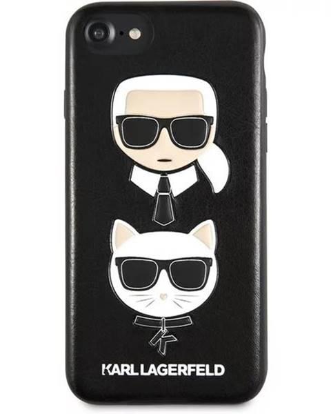 Karl Lagerfeld Kryt na mobil Karl Lagerfeld Karl and Choupette Hard Case na iPhone