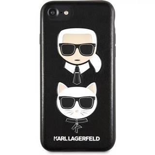 Kryt na mobil Karl Lagerfeld Karl and Choupette Hard Case na iPhone