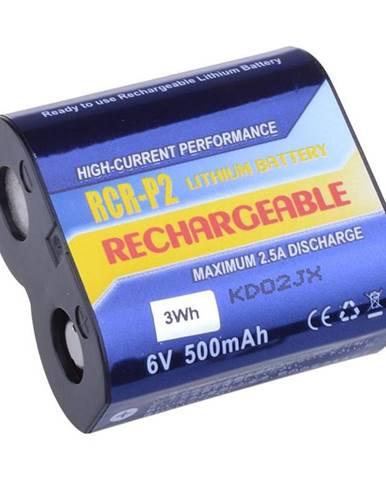 Batéria Avacom CR-P2, DL223A Li-Fe 6V 500mAh 3Wh