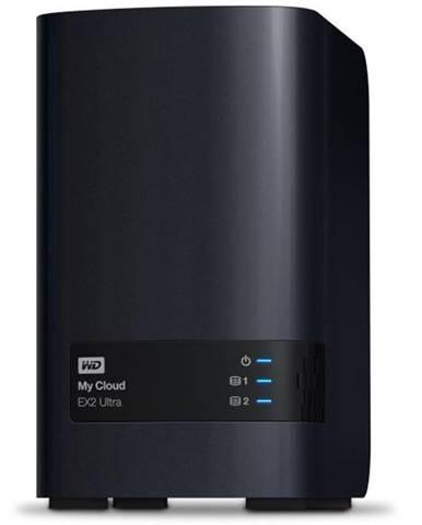 Sieťové úložište Western Digital My Cloud EX2 Ultra 6TB čierne