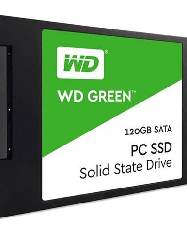 SSD Western Digital Green 3D Nand 120GB 2.5&