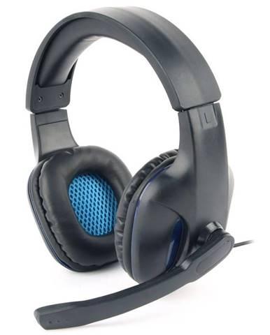 Headset  Gembird GHS-04 Gaming čierny/modrý