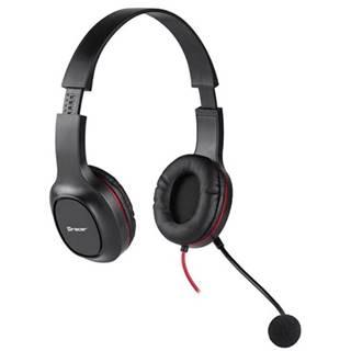 Headset  Tracer Office V2 čierny
