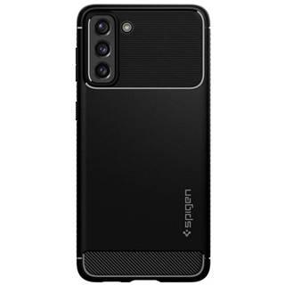 Kryt na mobil Spigen Rugged Armor na Samsung Galaxy S21 5G čierny