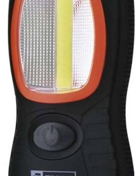 EMOS Lampáš Emos LED 3W COB LED + 3x LED,  3x AAA čierna
