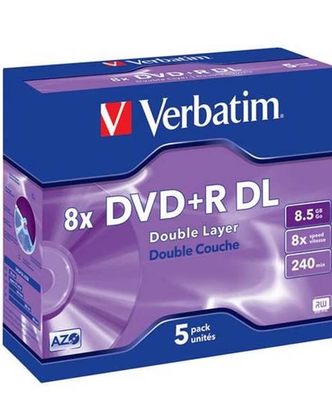 Verbatim Disk Verbatim DVD+R DualLayer, 8,5GB, 8x, 5ks