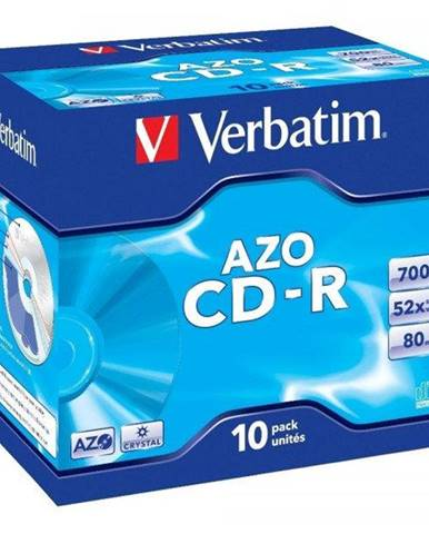 Disk Verbatim Crystal CD-R DLP 700MB/80min, 52x, jewel box, 10ks
