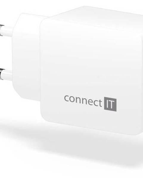 Connect IT Nabíjačka do siete Connect IT Fast Charge 2x USB, 3,4A s funkcí