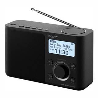 Rádioprijímač s DAB+ Sony XDR-S61DB čierny