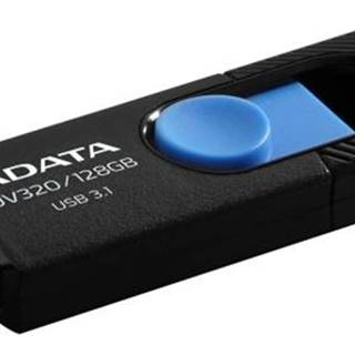 USB flash disk Adata UV320 128GB čierny/modrý