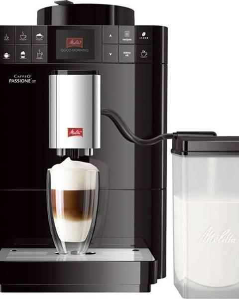 Melitta Espresso Melitta Passione One Touch Černé čierne