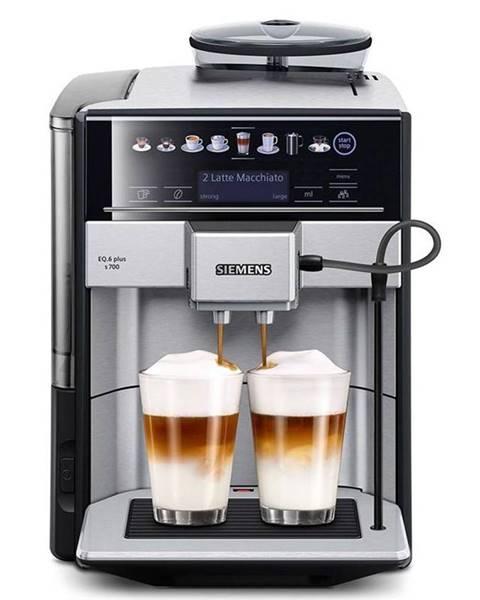 Siemens Espresso Siemens EQ.6 Te657313rw nerez