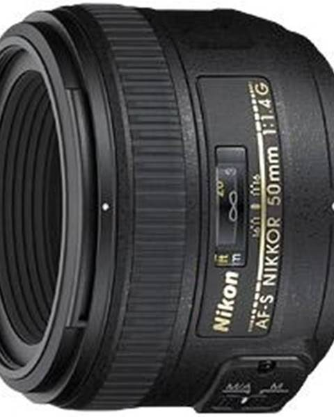 Nikon Objektív Nikon Nikkor 50 mm f/1.4G AF-S čierny