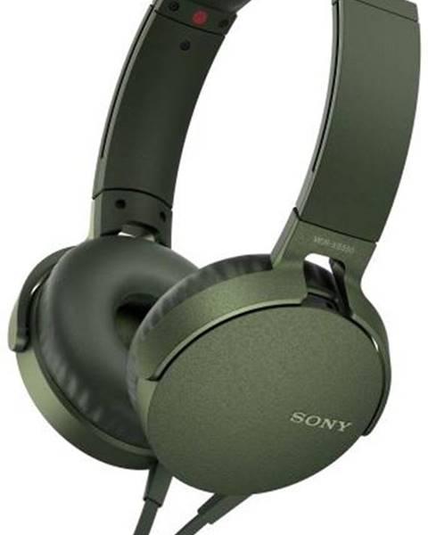Sony Slúchadlá Sony MDR-Xb550ap Extra Bass™ zelená
