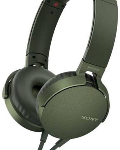 Slúchadlá Sony MDR-Xb550ap Extra Bass™ zelená