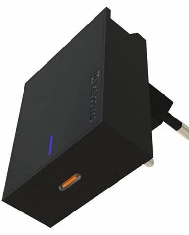 Nabíjačka do siete Swissten USB-C, 45W čierna