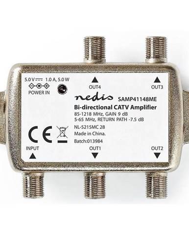 Zosilňovač Nedis Catv, Max. zesílení 12 dB, 85-1218 MHz, 4 výstupy,