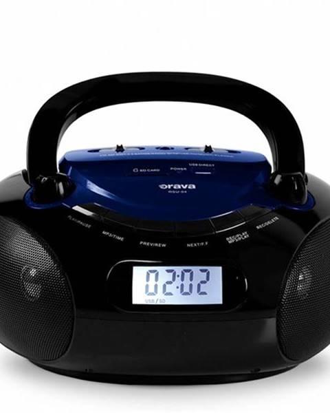 Orava Rádioprijímač Orava RSU-04 čierny/modr