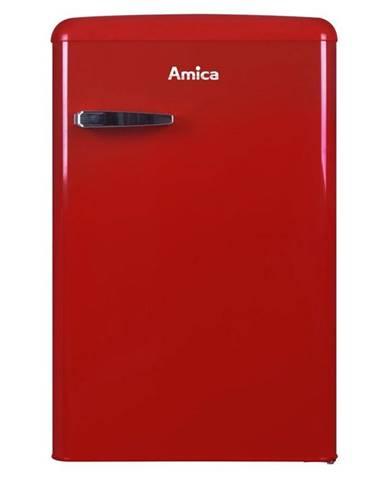 Chladnička  Amica Retro VT 862 AR červen
