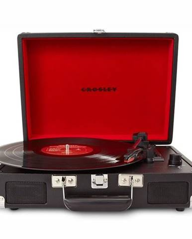 Gramofón Crosley Cruiser Deluxe čierny