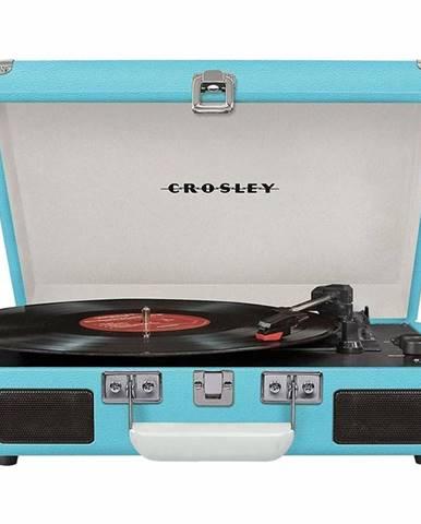 Gramofón Crosley Cruiser Deluxe tyrkysov