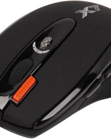 Myš  A4Tech X-710BK čierna / laserová / 7 tlačítek / 2000dpi