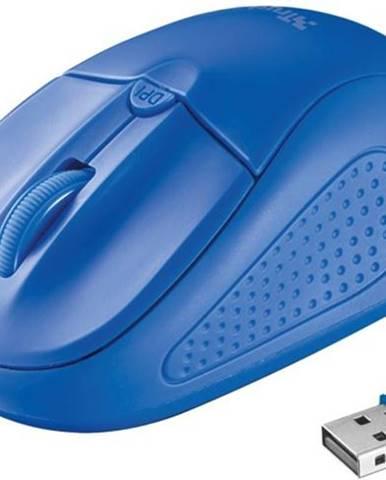 Myš  Trust Primo Wireless modrá / optická / 4 tlačítka / 1600dpi