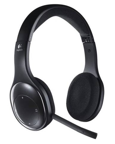 Headset  Logitech Wireless H800 čierny