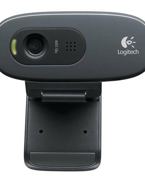 Logitech Webkamera Logitech HD Webcam C270 čierna