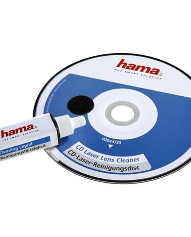 Čistící disk CD Hama s čisticí kapalinou, 1ks