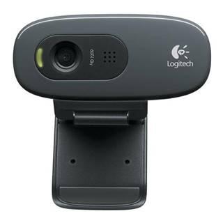 Webkamera Logitech HD Webcam C270 čierna