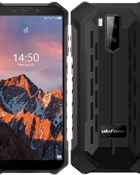 UleFone Mobilný telefón UleFone Armor X5 PRO Dual SIM čierny