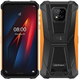 Mobilný telefón UleFone Armor 8 Dual SIM oranžový