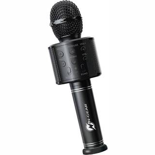 Prenosný reproduktor N-Gear Sing Mic S10, karaoke mikrofon čierny
