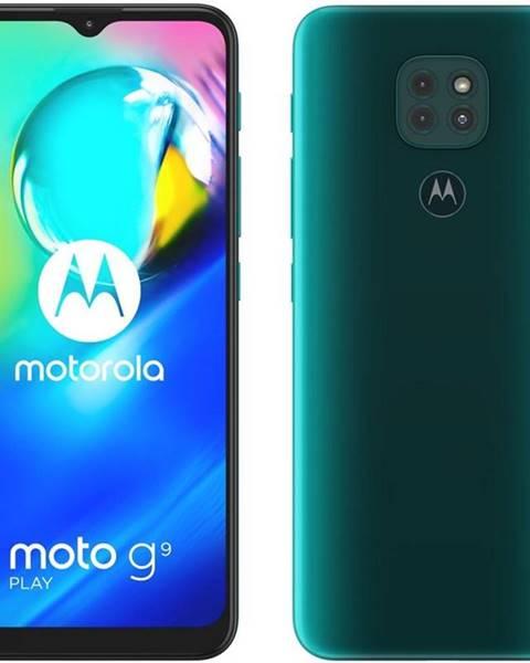 Motorola Mobilný telefón Motorola Moto G9 Play - Forest green