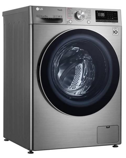 LG Práčka LG F4wv909p2te strieborn