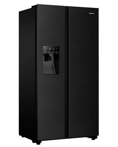 Americká chladnička Hisense Rs694n4tfe čierna