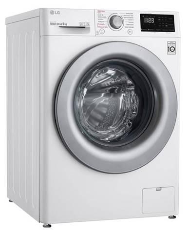 Práčka LG F49v3vw4w biela