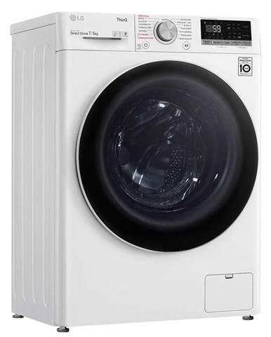 Práčka so sušičkou LG F2dv5s7s0 biela