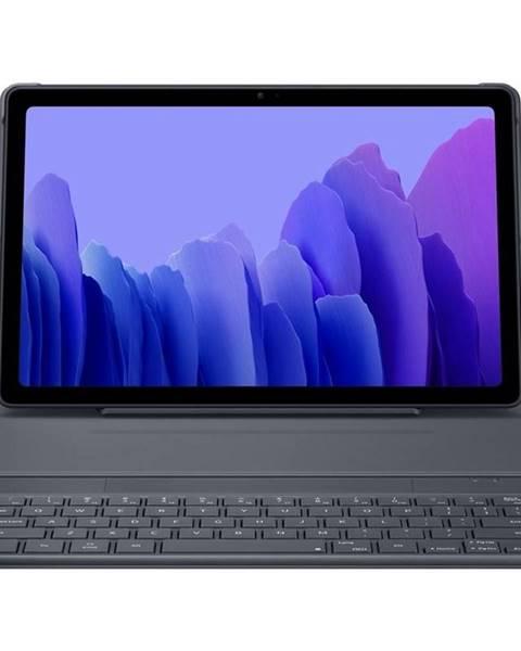 Samsung Púzdro s klávesnicou na tablet Samsung Galaxy Tab A7 sivé