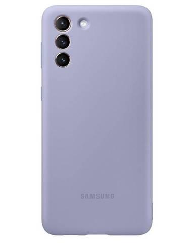 Kryt na mobil Samsung Silicone Cover na Galaxy S21+ 5G fialový