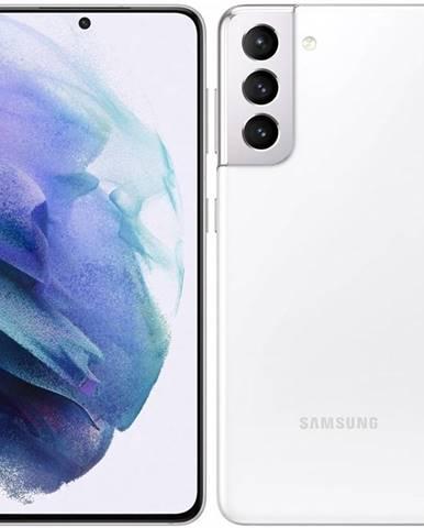 Mobilný telefón Samsung Galaxy S21 5G 256 GB biely