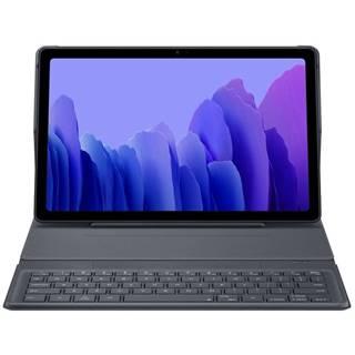 Púzdro s klávesnicou na tablet Samsung Galaxy Tab A7 sivé