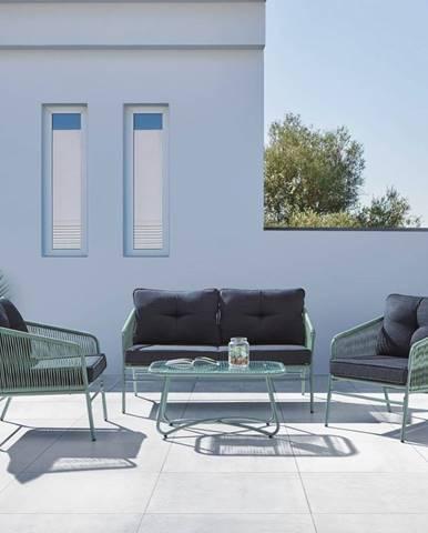 Záhradná sedacia Zostava Paros Zelená