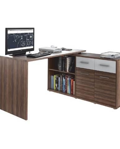 PC stolík slivka/biela RAFAEL NEW