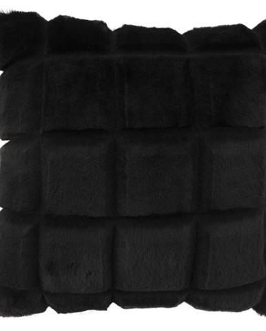 Vankúš čierna 45x45 VANKE TYP 5
