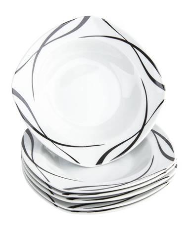 Domestic 6-dielna sada hlbokých tanierov Oslo, 21,5 cm