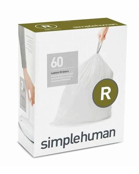 Simplehuman Simplehuman Príslušenstvo - Vrecia do odpadkového koša 10 l, typ R, 60 ks CW0253