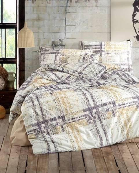 BedTex BedTex Bavlnené obliečky Mila smotanová, 140 x 200 cm, 70 x 90 cm
