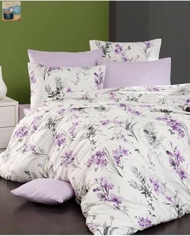 BedTex Bavlnené obliečky Nesta smotanová, 220 x 200 cm, 2 ks 70 x 90 cm